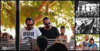Best Radio 92.6 party - day 1: Adrianos Papadeas + George Seragos + Cleopatra Fyntanidou at Copla (Lefkada) 19 August 2016