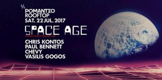 Space Age Party at Romantso rooftop