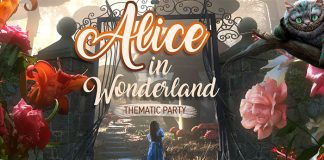 Alice in Wonderland theme party