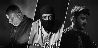 Drew McDowall, DJ Stingray & The Hacker