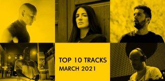 Top 10 tracks Μαρτίου 2021
